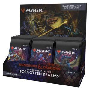 Magic: The Gathering. Приключения в Забытых Королевствах. Дисплей сет-бустеров (en)